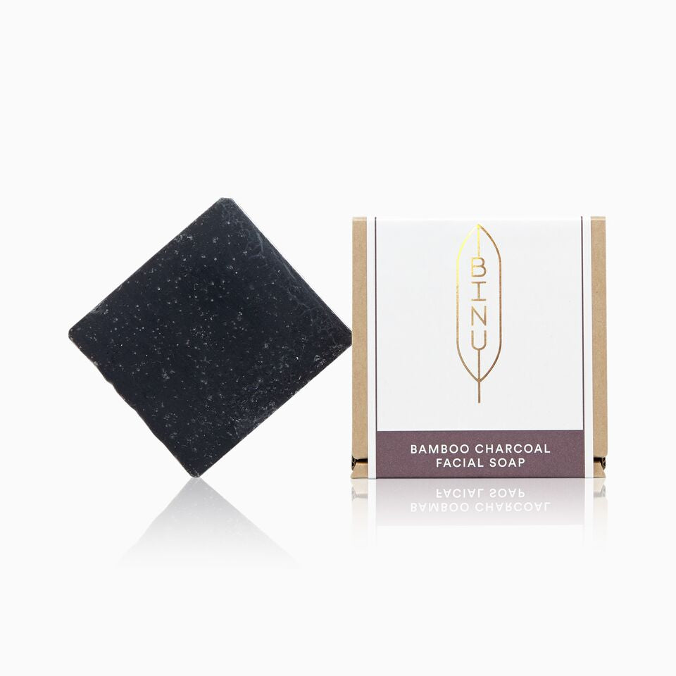BINU - Bamboo Charcoal Facial Soap