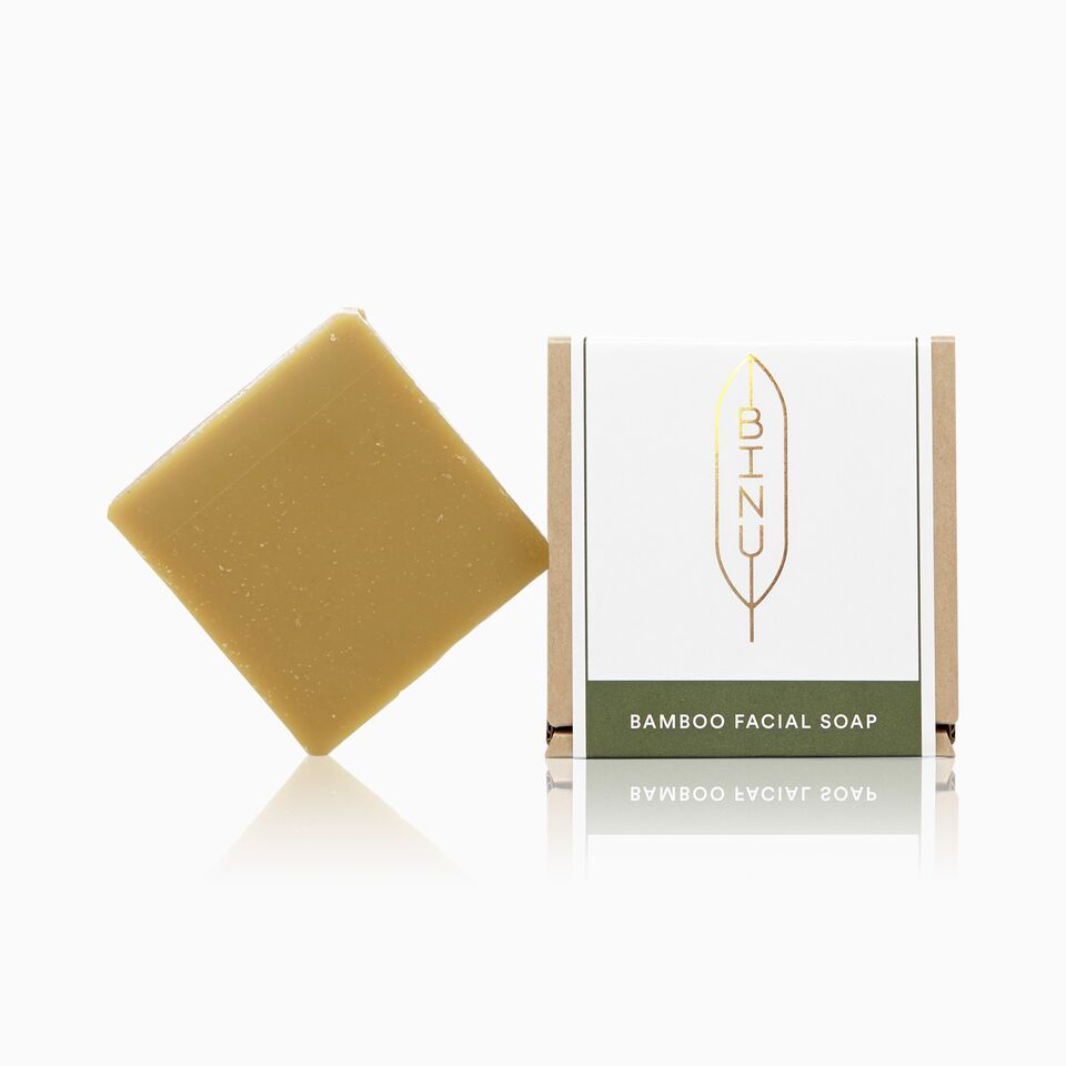 BINU - BAMBOO FACIAL SOAP