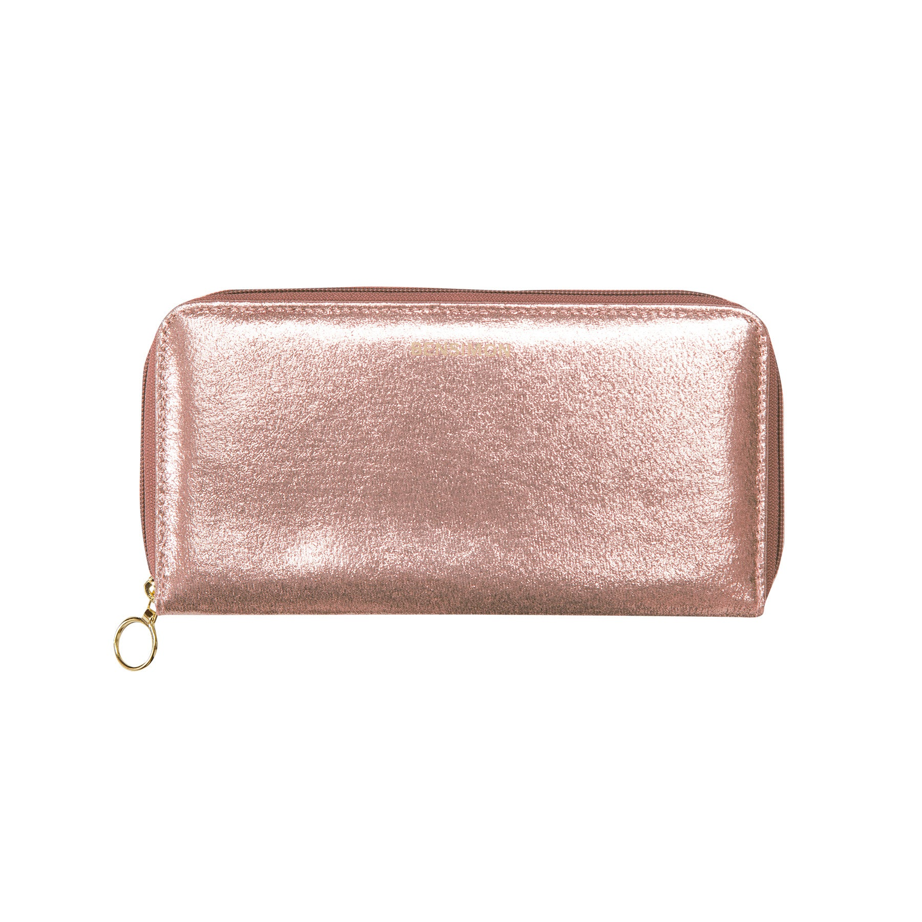 Zipped Wallet - Rose