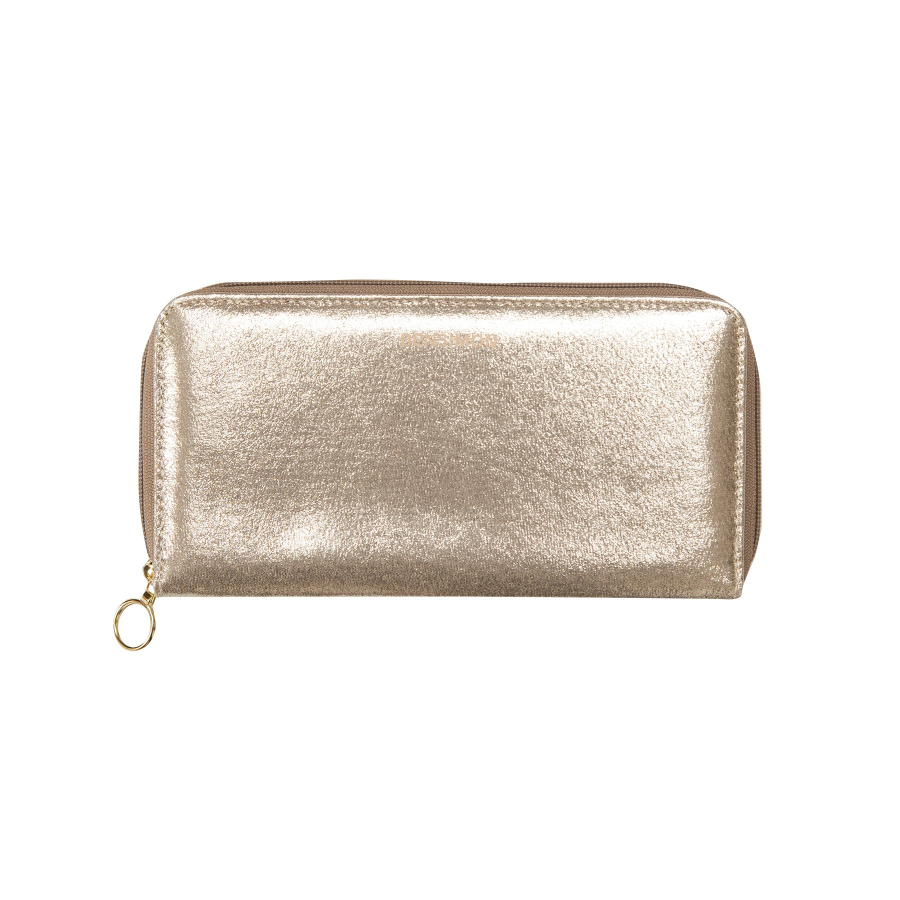 Zipped Wallet - Champagne