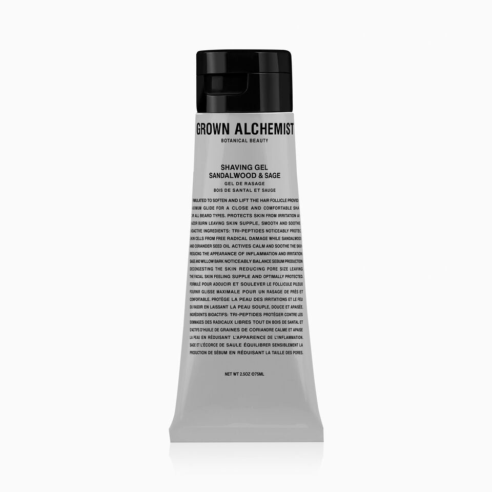 Grown Alchemist - Shaving Gel : Sandalwood & Sage