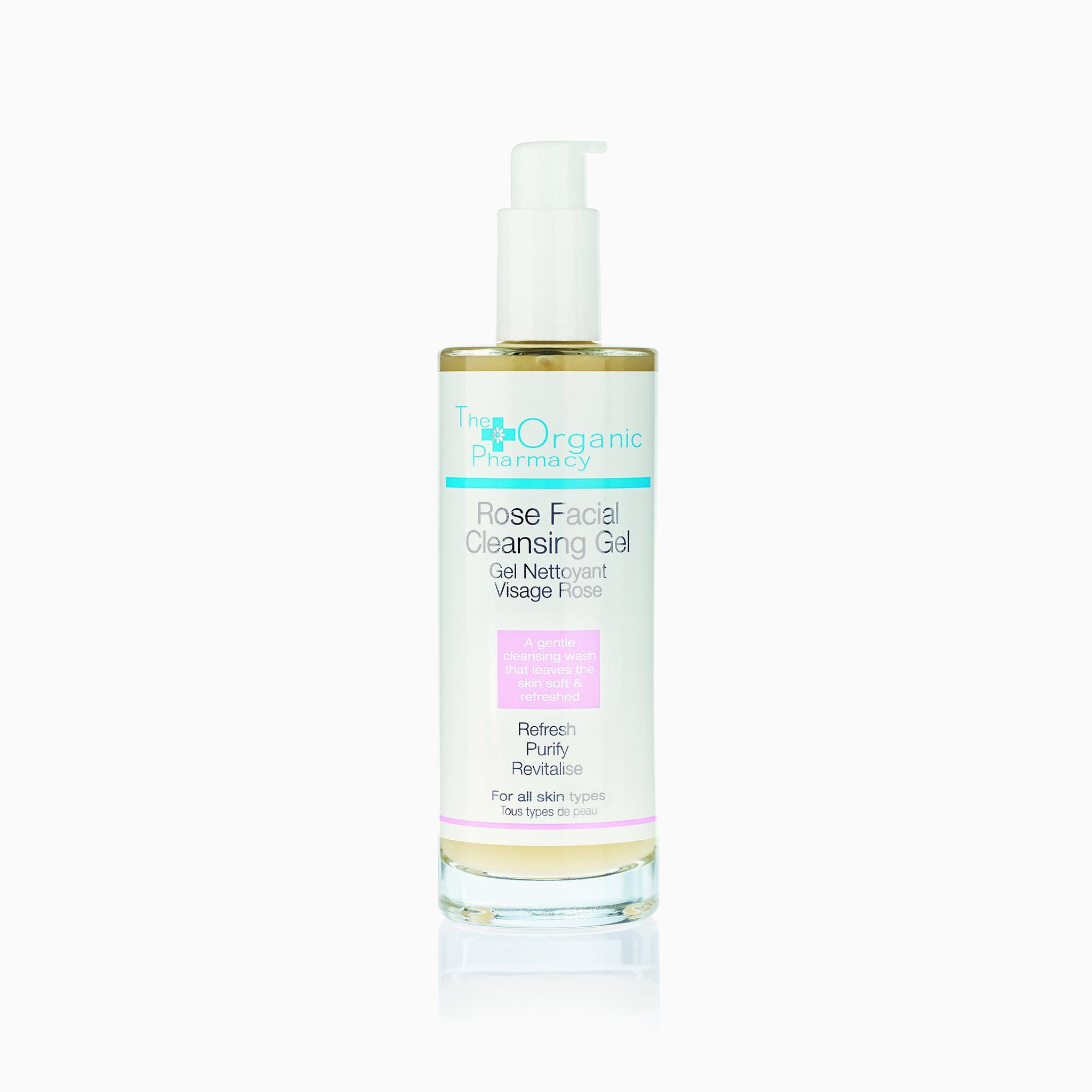 The Organic Pharmacy, Rose Facial Cleansing Gel