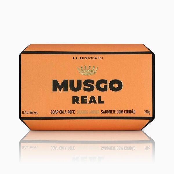 Musgo Real Soap On A Rope Orange Amber Körperseife
