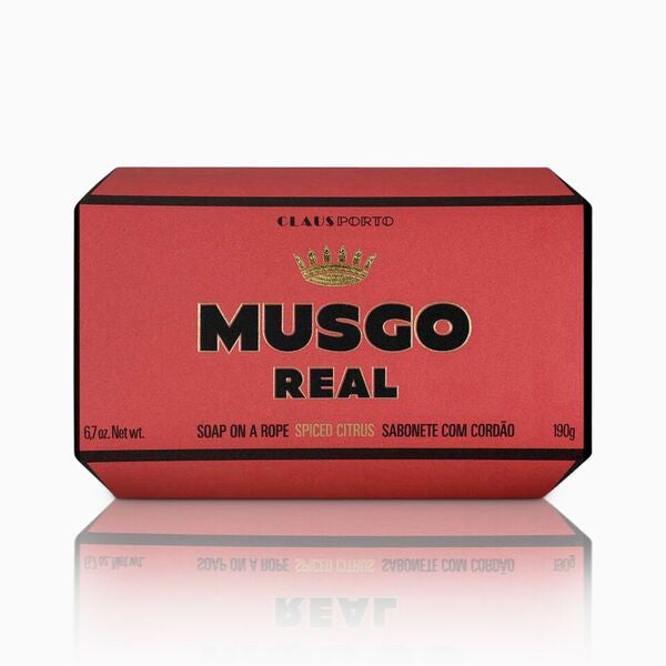 Musgo Real Soap on a Roap Spiced Citrus