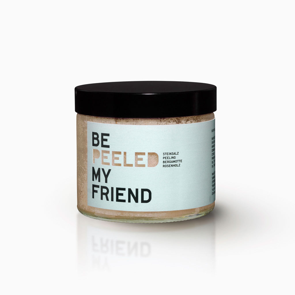 Be Soap My Friend Körperpeeling Bergamotte 250g