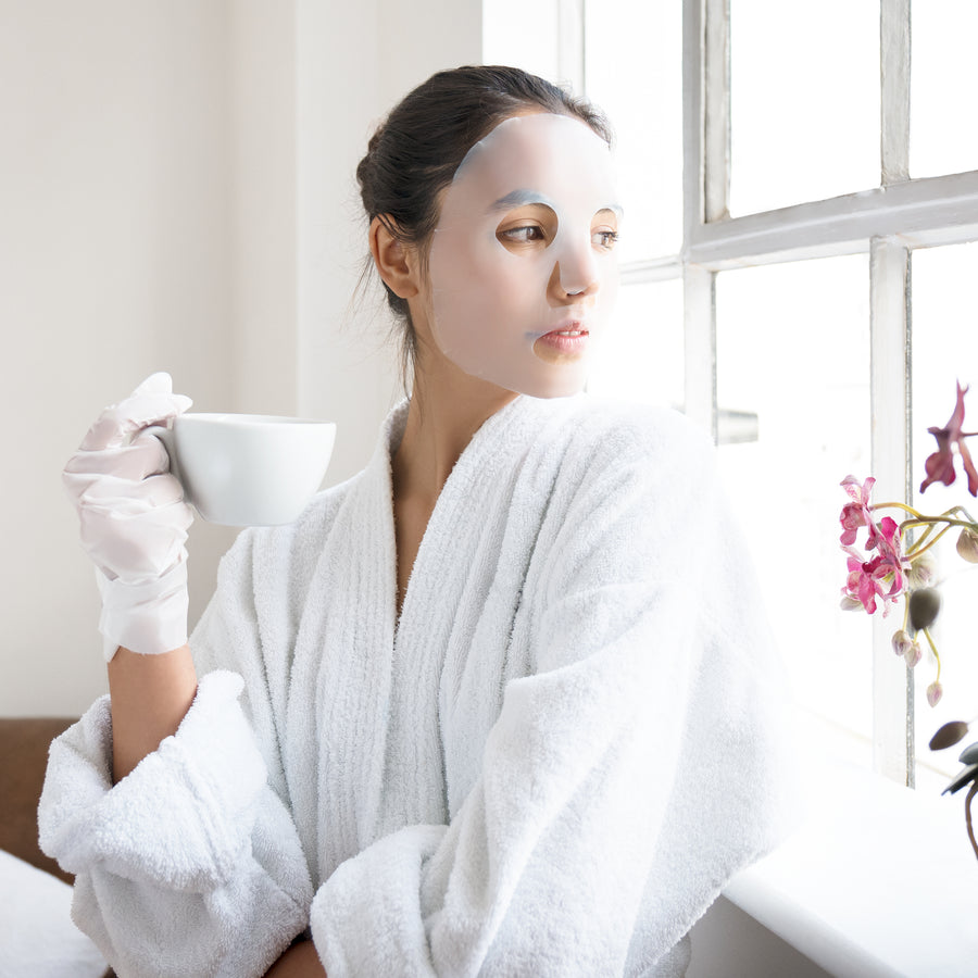 After Sun+ Indulgence Pack Face, Hand & Foot Mask