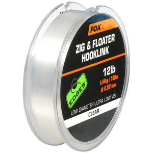 Fox Zig & Floater Line, Zigs & Floaters, Fox, Bankside Tackle