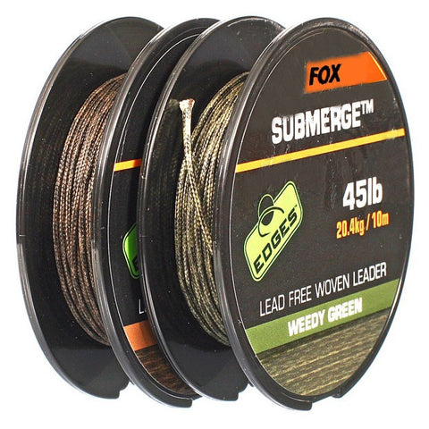 Fox Edges Submerge Lead Free Leader, Leadcore, Leaders & Tubing, Fox, Bankside Tackle