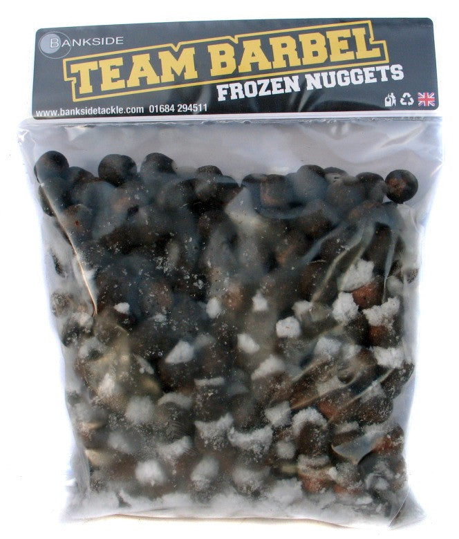 Bankside Team Barbel 14mm Frozen Nuggets, Boilies, Bankside Baits, Bankside Tackle