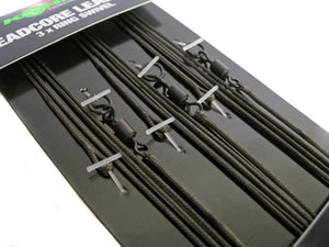 Korda Ready-Tied Leadcore Leaders, Leadcore, Leaders & Tubing, Korda, Bankside Tackle