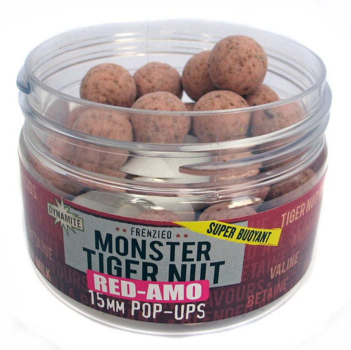 Dynamite Baits Red Amo Pop Ups 15mm