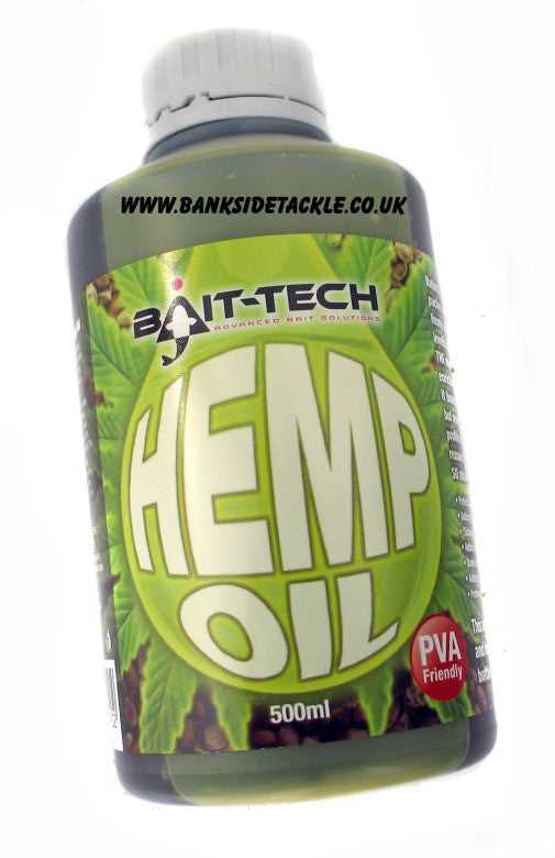 Bait Tech Hemp Oil, Bait Oils, Bait-Tech, Bankside Tackle