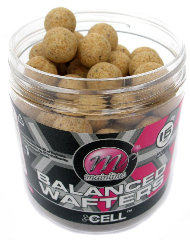 Mainline Baits Cell Balanced Wafters, Hookbaits, Mainline Baits, Bankside Tackle
