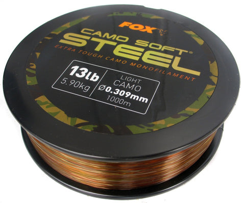 Fox Soft Steel Light Camo, Line & Braid, Fox, Bankside Tackle