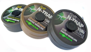 Korda N-Trap Soft Coated Hooklink, ALL COLOURS, Hooklinks, Korda, Bankside Tackle
