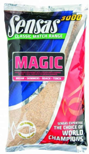 Sensas 3000 Magic Natural, Groundbaits, Sensas, Bankside Tackle