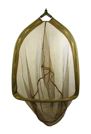 Dinsmores Syndicate Carp XT Rigid Super Soft Green Mesh Landing Net 18' (45cm), Coarse Nets, Dinsmore, Bankside Tackle