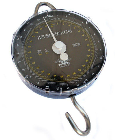 Reuben Heaton Standard Angling Scale 120lb x 4oz Dual Revolution, Scales & Accessories, Reuben Heaton, Bankside Tackle