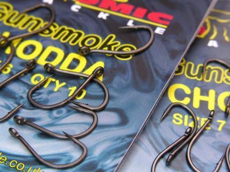 Atomic Gunsmoke Chodda Hooks, Carp Hooks, Atomic Tackle, Bankside Tackle