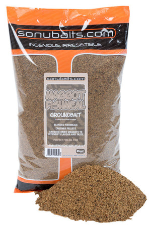 Sonu Baits Maggot Fishmeal Groundbait 2kg, Groundbaits, Sonu Baits, Bankside Tackle