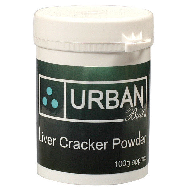 Urban Baits Liver Cracker Powder, Boilies, Urban Bait, Bankside Tackle