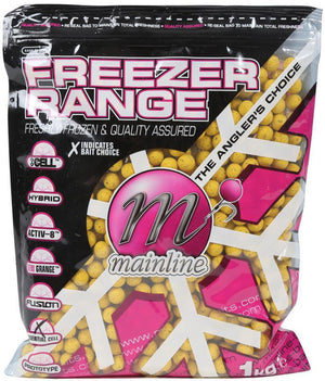 Mainline Baits Essential Cell Boilies 15mm 1kg, Boilies, Mainline Baits, Bankside Tackle