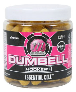 Mainline Baits Essential Cell Dumbell Hookers, Hookbaits, Mainline Baits, Bankside Tackle
