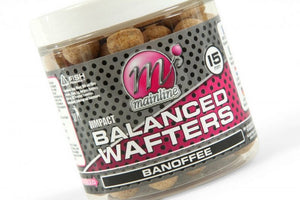 Mainline Baits Hi Impact Balanced Wafters Banoffee 15mm, Hookbaits, Mainline Baits, Bankside Tackle