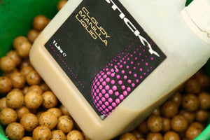Sticky Baits Cloudy Manilla Liquid, Bait Additives, Sticky Baits, Bankside Tackle