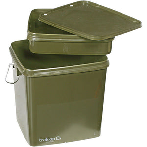 Trakker 13ltr Bucket with Removable Tray, Buckets, Trakker, Bankside Tackle
