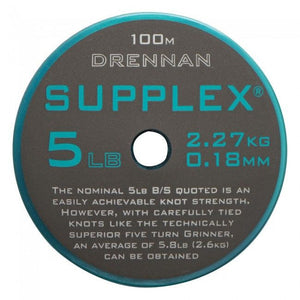Drennan Supplex 100m, Coarse Line, Drennan, Bankside Tackle