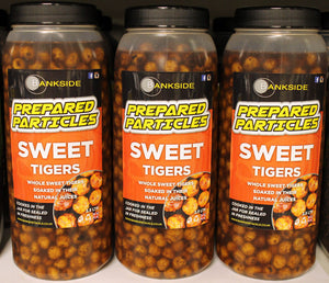 Bankside Sweet Tigers Jar 2.5ltr, Particles, Bankside Baits, Bankside Tackle