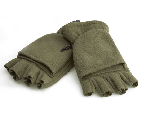 Trakker Polar Foldback Gloves, Headwear, Trakker, Bankside Tackle