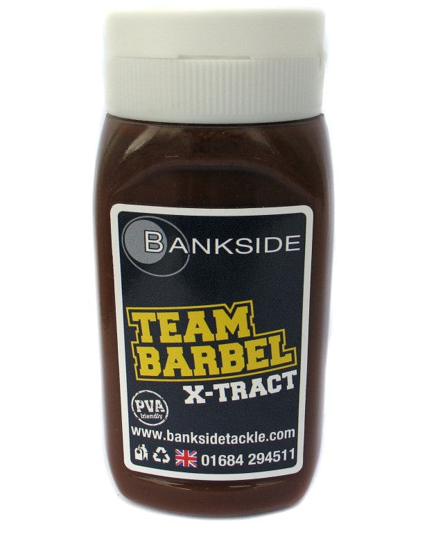 Bankside Team Barbel Xtract 300ml, Bait Additives, Bankside, Bankside Tackle