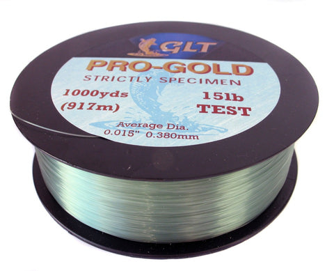 Gold Label Pro Gold 1000m, Line & Braid, GLT, Bankside Tackle