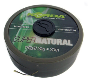 Korda Supernatural Braid Weedy Green, Hooklinks, Korda, Bankside Tackle