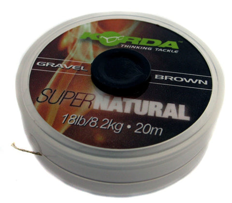Korda Supernatural Braid Gravel Brown, Hooklinks, Korda, Bankside Tackle