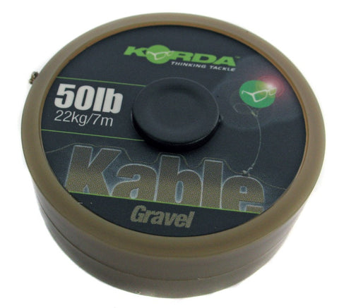 Korda Kable Advanced Leadcore Gravel 7m Spool, Leadcore, Leaders & Tubing, Korda, Bankside Tackle