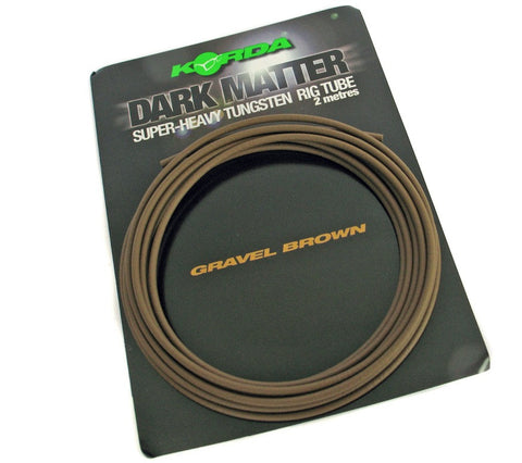 Korda Dark Matter Tungsten Tubing, Leadcore, Leaders & Tubing, Korda, Bankside Tackle