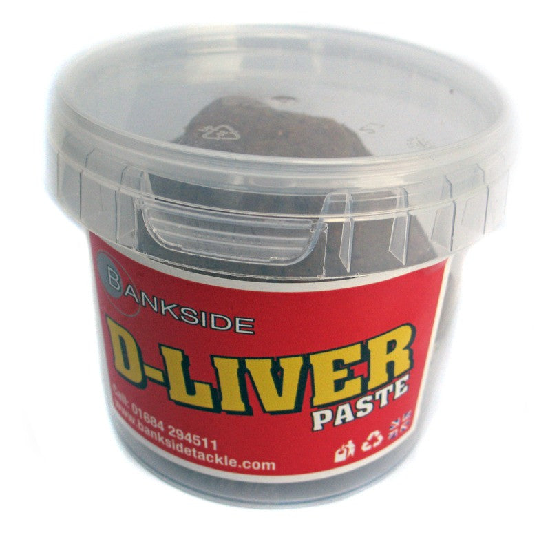 Bankside D-Liver Shelflife Paste, Boilies, Bankside, Bankside Tackle