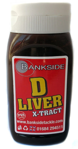 Bankside D-Liver X-Tract 300ml, Bait Additives, Bankside, Bankside Tackle