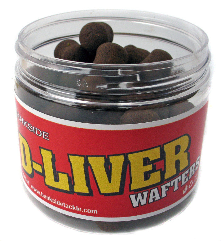 Bankside D-Liver Wafters, Hookbaits, Bankside Baits, Bankside Tackle
