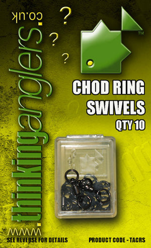Thinking Anglers Chod Ring Swivels, Rig Bits, Thinking Anglers, Bankside Tackle