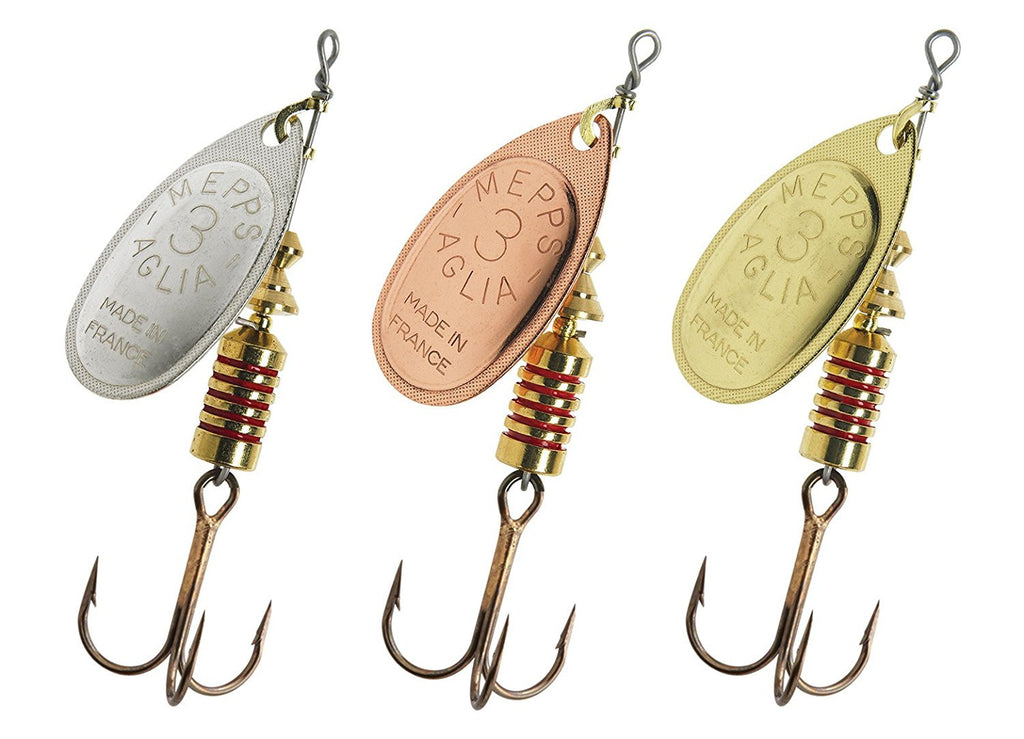 Mepps Aglia Spinners, Spinners, Mepps, Bankside Tackle