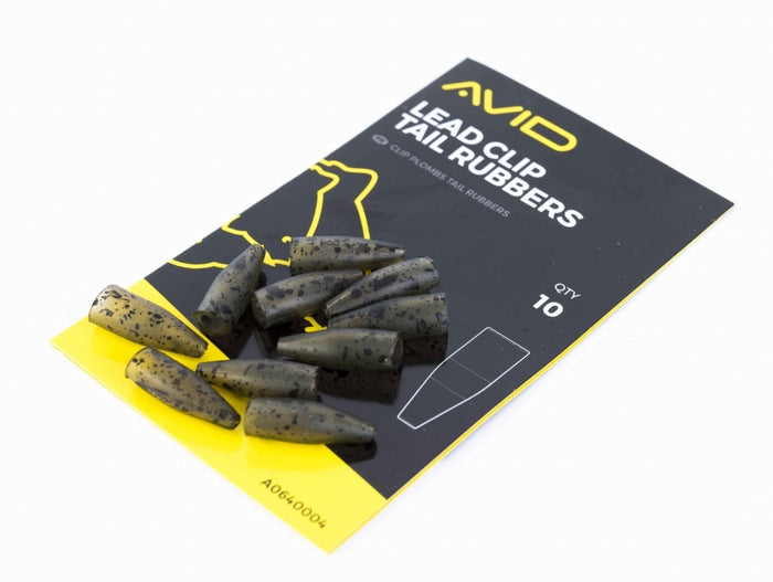 Avid Carp Outline Lead Clip Tail Rubbers