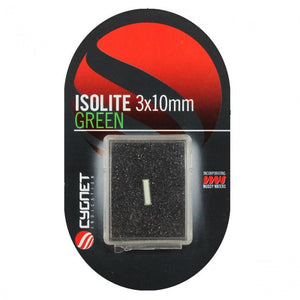 Cygnet Green Isolotes 3*10mm, Isotopes, Cygnet Tackle, Bankside Tackle