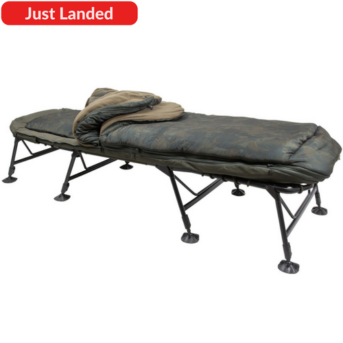 Nash Indulgence SS3 Wide 5 Season, Bedchairs, Nash, Bankside Tackle