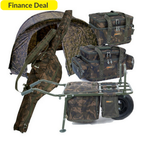 Fox Camolite Finance Package, PLUS FREE GIFTS, Finance, Fox, Bankside Tackle