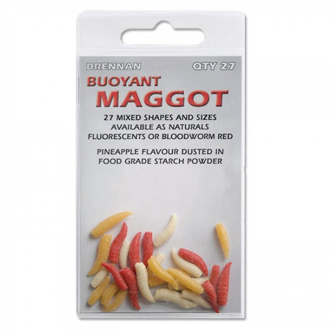 Drennan Buoyant Maggoot, Artificial Baits, Drennan, Bankside Tackle