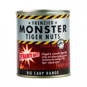 Dynamite Frenzied Tiger Nuts Tin 830g, Particles, Dynamite Baits, Bankside Tackle